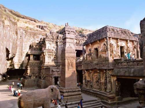 Ajanta and Ellora Caves, Maharashtra