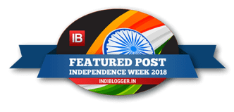 Featured post on IndiBlogger, the biggest community of Indian Bloggers
