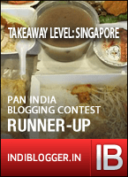 Takeaway level: Singapore - Runner up!