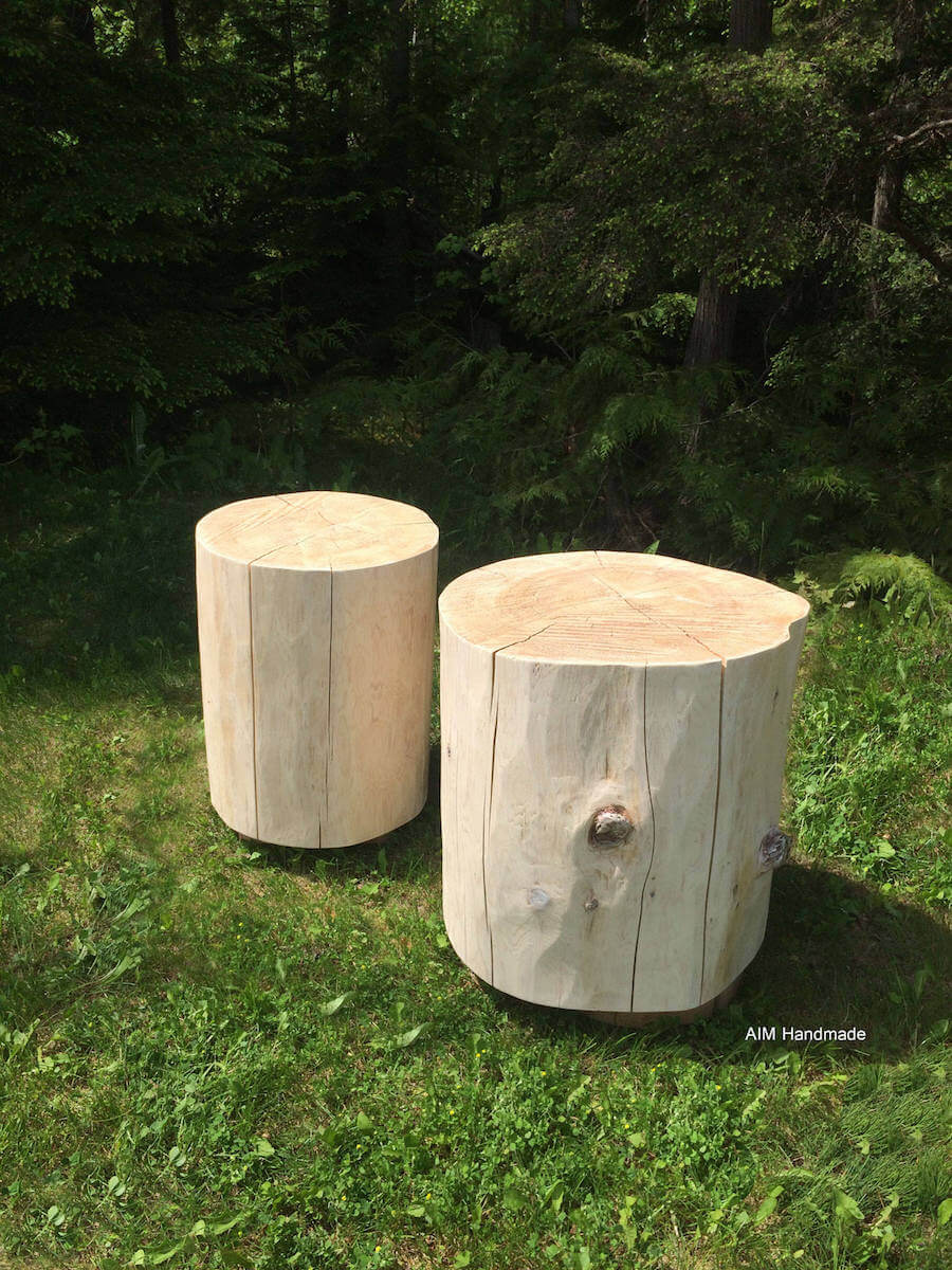 25 Gorgeous Tree Stump Tables Insteading