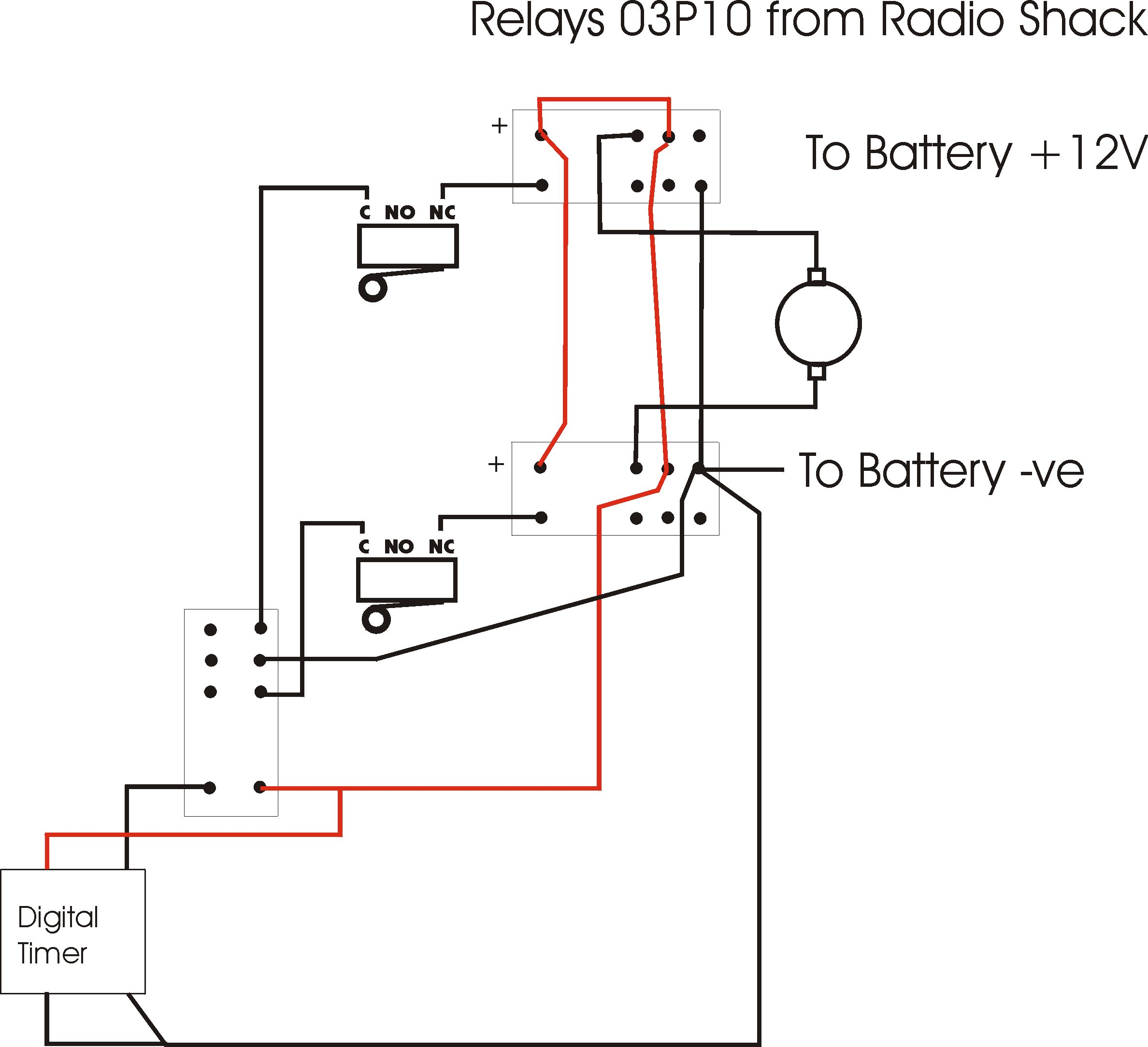 Actuator Relay Wiring Diagram