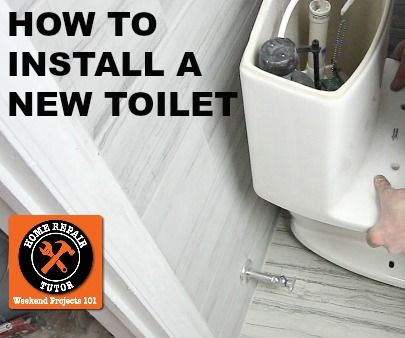 How To Install A New Toilet In 1 Hour Or Less 8 Steps With Pictures Instructables