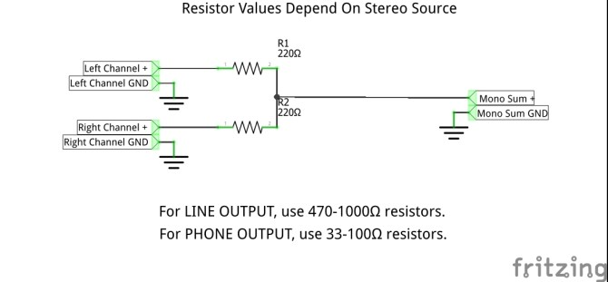 mono to stereo wiring diagram  wiring diagram for trane