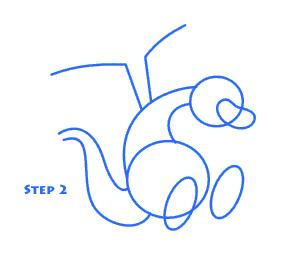 How To Draw A Cartoon Dragon 5 Steps Instructables