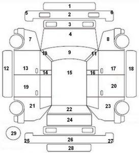 Parts Of Car Body Diagram