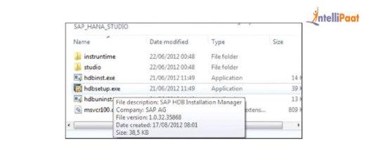Instalação SAP HANA