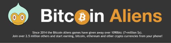 Bitcoin Aliens logo