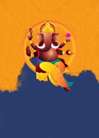 Griha Pravesh Ganeshaya Invitation Invites