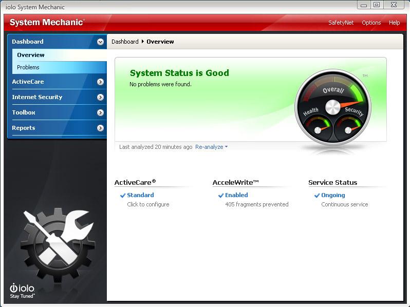 iolo system mechanic-sistem düzenleme-pc hızlandırma-disk temizleme