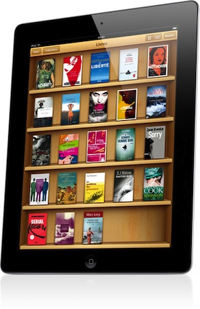 iBooks iPad 2