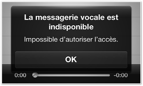 Free Mobile Messagerie Vocale Visuelle Dysfonctionnement