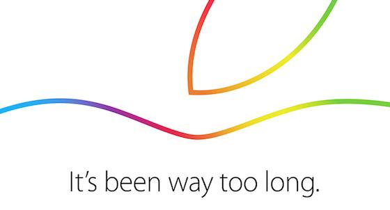 Apple Keynote 16 Octobre Invitation