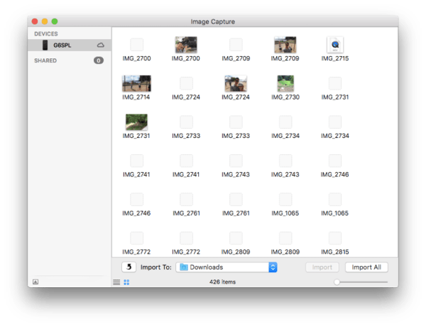 How to Transfer iPhone Photos to Mac with Image Capture ...
