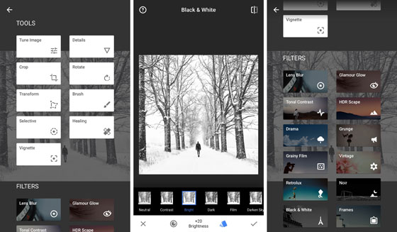 Best iPhone Camera App SnapSeed