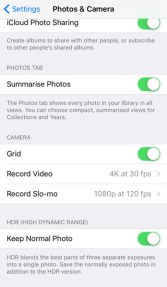 iPhone Camera Features 5