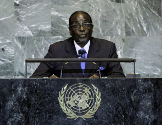 President Robert Mugabe of Zimbabwe. UN Photo/Lou Rouse