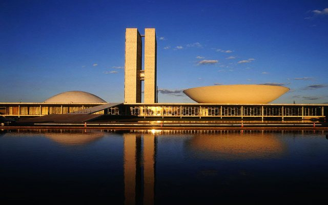 Brazilian President Dilma Rousseff's political fate will be decided in the next few months in this emblematic building in Brasilia, the seat of the national Congress. Credit: Brazilian Congress