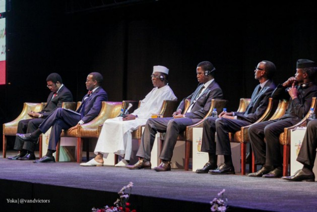 African Heads of State during the official opening ceremony of the AfDB Annual meetings in Lusaka. Credit: Yoka | @vandvictors