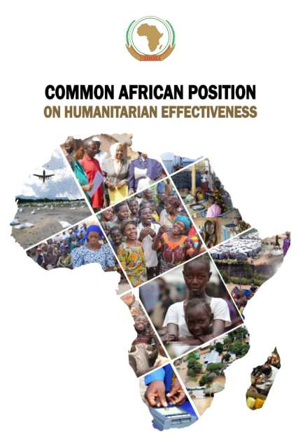Common African Position (CAP). Courtsey of the African Union Commission
