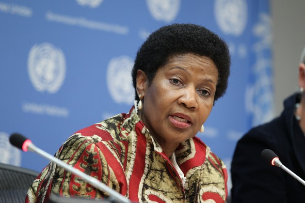 Phumzile Mlambo-Ngcuka, UN Under-Secretary-General and UN Women Executive Director. Credit: UN Photo/Devra Berkowitz.
