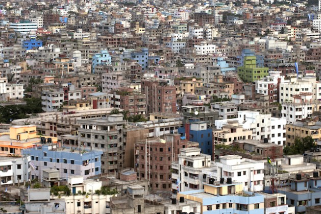 City view of Dhaka, Bangladesh. The Asia-Pacific region is urbanizing rapidly. Credit: UN Photo/Kibae Park