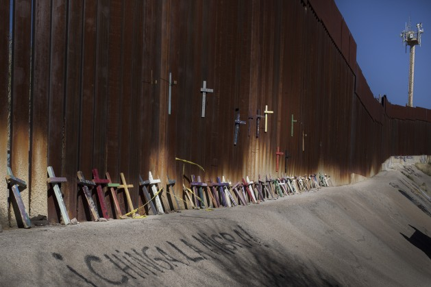 The US/Mexico Border is becoming more dangerous. Credit: Hans Maximo Musielik/Amnesty International