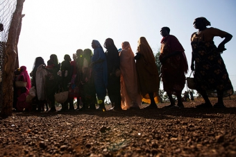 Famine has officially been declared by the South Sudanese government for some parts of the country. Credit: FAO