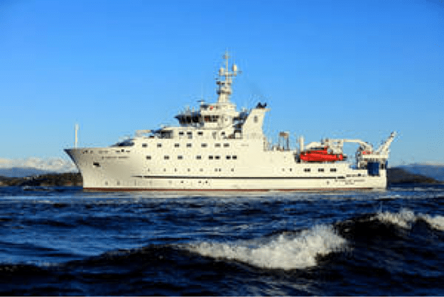 The new Dr. Fridtjof Nansen is one of the most advanced marine vessels sailing today. Credit: FAO