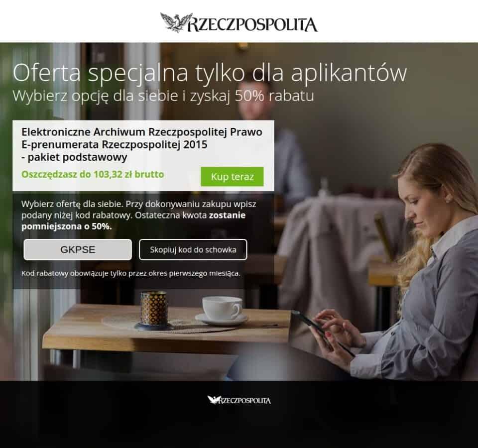 Landingpage Rzeczpospolita