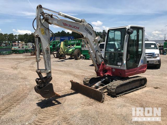 2011 Takeuchi TB235 Mini Excavator In Humble, Texas
