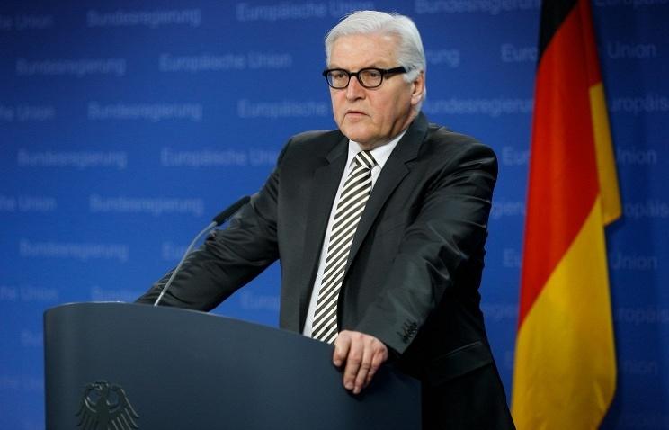 German Foreign Minister Frank-Walter Steimneier