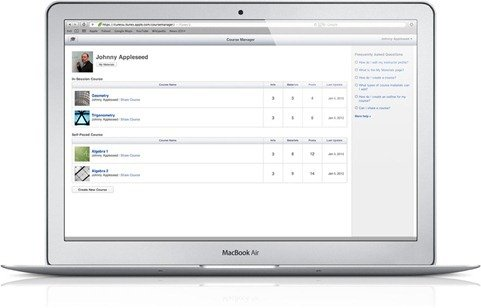 Apple iTunes U Course Builder