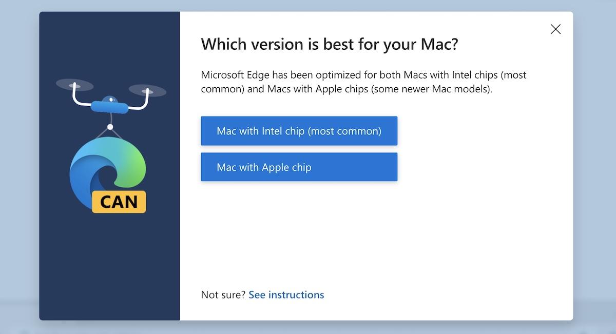 Edge для Mac с Apple Chip