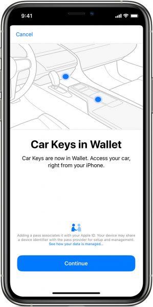 Ключи от машины Apple