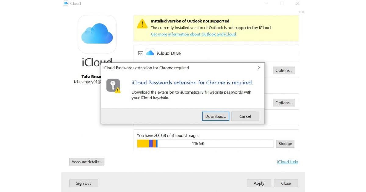Связка ключей iCloud пароли Chrome