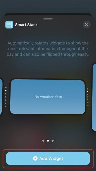 Как использовать виджет умного стека на iPhone и iPad