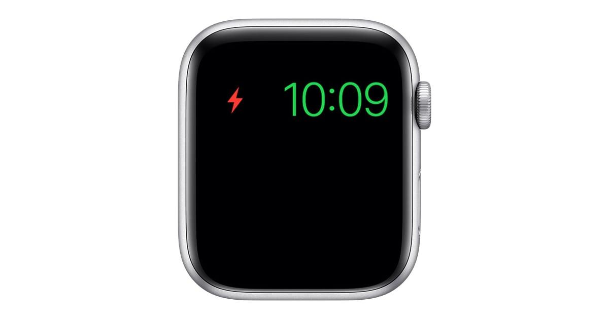 Ошибка режима резервного питания Apple Watch