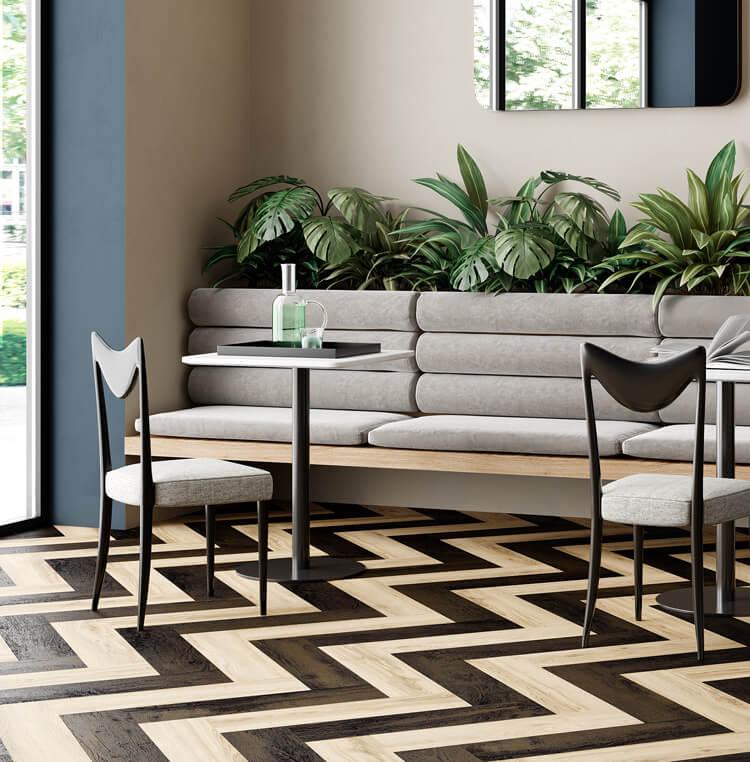 luxury vinyl tiles ivc commercial