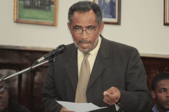Minister Of Labour, Maxwell Charles.