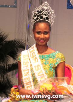 Miss Svg 2013, Shara George, Miss Mustique Co. Ltd.
