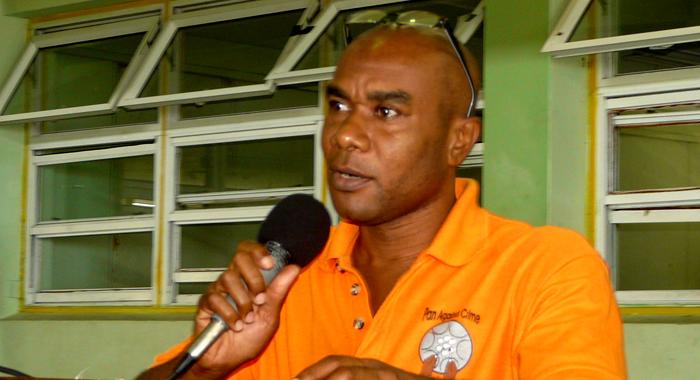 Acting Deputy Commissioner Of Police, Frankie Joseph.