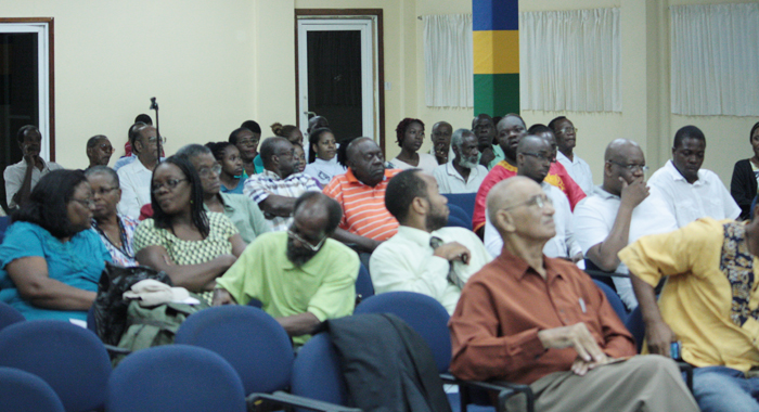 A Section Of The Audience At The Lecture Tuesday Night. (Iwn Photo)