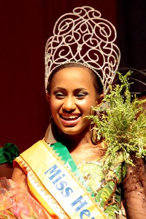 Miss Heritage 2013, Lateefa Noel. (Iwn Photo)