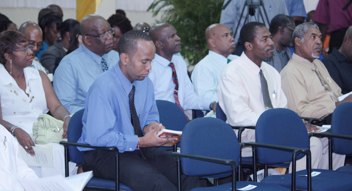 Cabinet Members Among Persons At The Launch On Friday. (Iwn Photo)