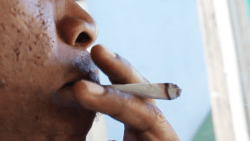 Smoking Marijuana