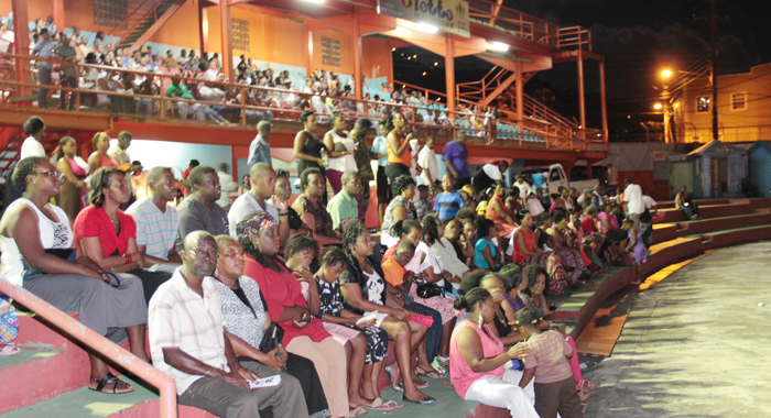 A Section Of The Crowd At Sunday'S Opening Of Gospel Fest. (Iwn Photo)