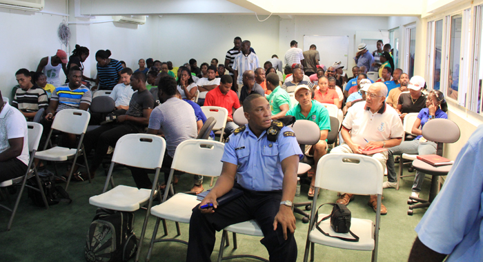 A Section Of The Crowd At Saturday'S Meeting. (Iwn Photo)