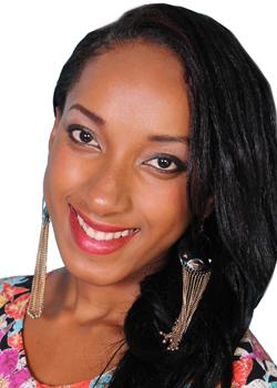 Miss Jamaica  - Daneille Tamoii Black.