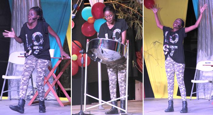 Best Talent Nikiesha Saunders. (Iwn Photos)