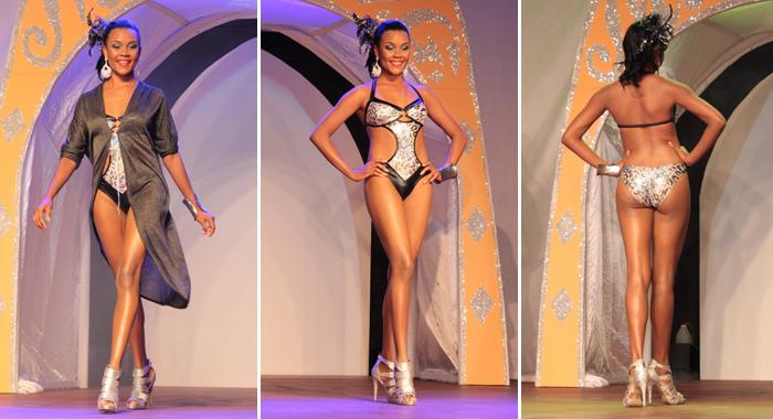 Best Swimwear -- Miss Mustique Co. Ltd. Karla Gellizeau. (Photos: Zavique Morris/Iwn)